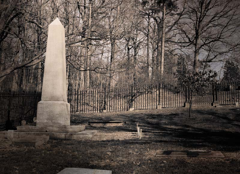 Private family graveyard at Monticello. Charlottesville, VA. (iStockPhoto / Gene Krebs)