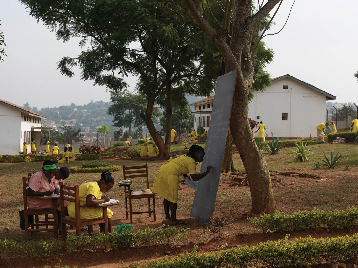 Luzira Women's Prison, which holds an estimated 370 women and thirty children. Kampala, Uganda, 2013. Photograph by Jan Banning.
