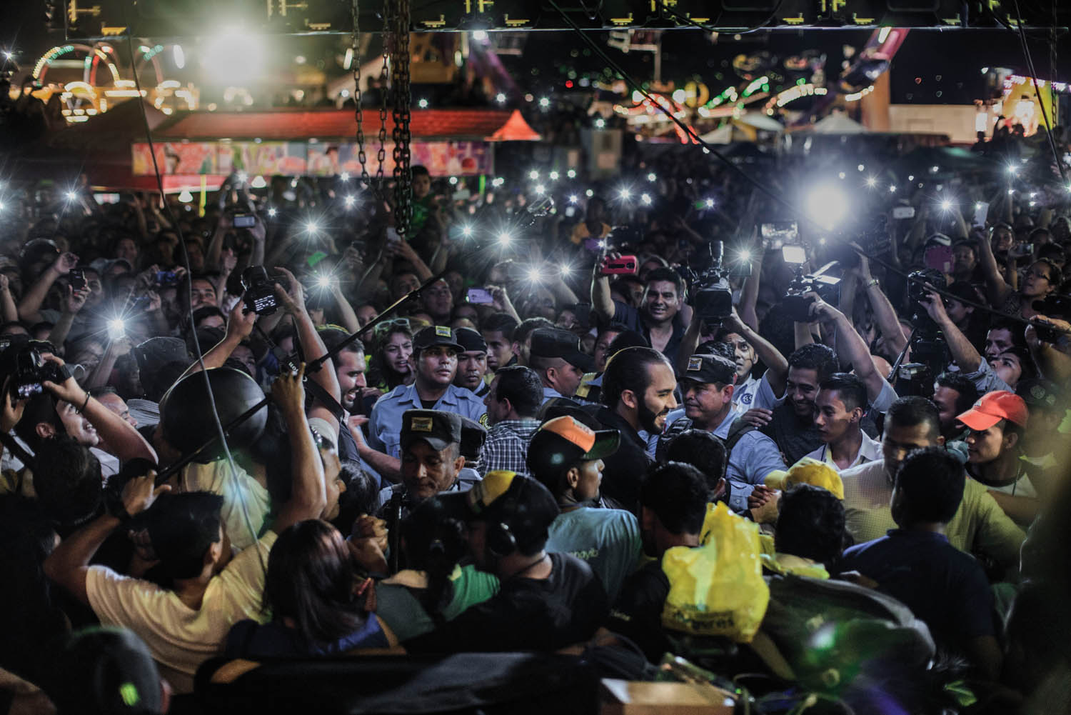 San Salvador Mayor Nayib Bukele by Juan Carlos