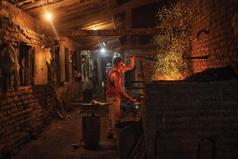 Potengi, in the state of Ceará, was once known for its blacksmiths, who typically work from two to nine in the morning in order to avoid the heat of the day—and for good reason, since the heat in their workshops can soar to 122 degrees Fahrenheit.