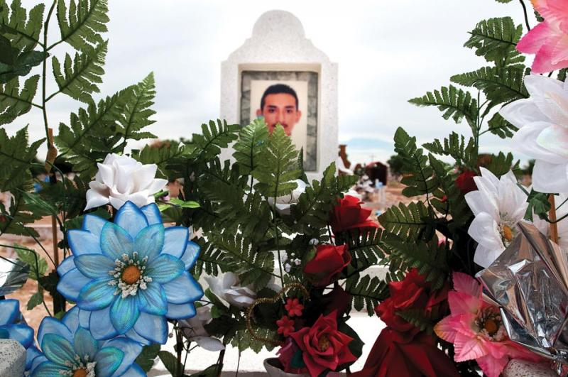 The Juárez cemetery is filled with victims of the drug war.