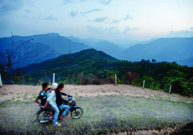 Most people in the Naga Hills travel by foot, but more and more people are getting around on 125cc motorbikes. The influx of motorbikes has helped to connect the Nagas to the larger Burmese economy, planting seeds for development.