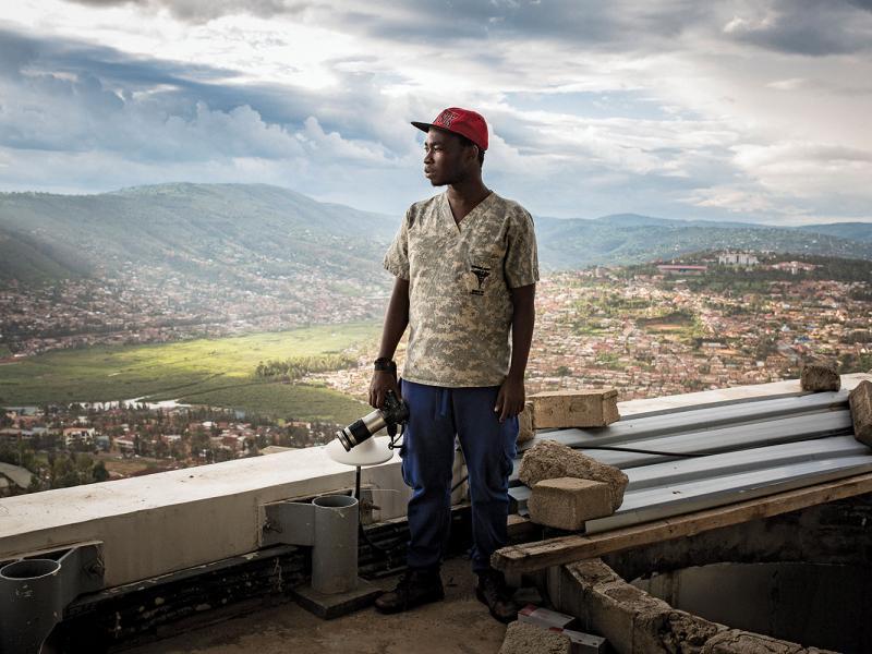 Jack Yakubu Nkinzingabo, Kigali City Tower.