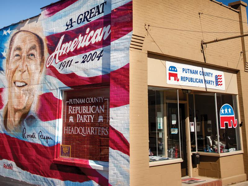 Putnam County Republican Party Headquarters. Cookeville, TN.