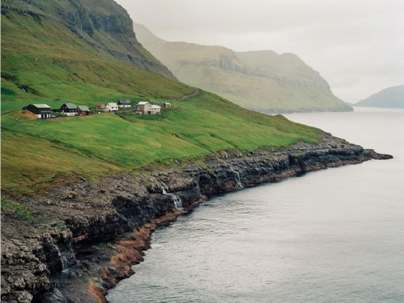 The village of Skælingur, population thirteen.