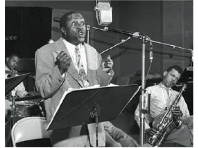 L to R: Big Joe Turner, Louis Jordan, Sleepy John Estes