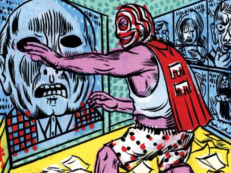 Illustration by Gary Panter
