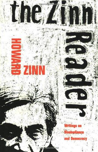howard zinn the people s historian vqr online the zinn reader writings on disobedience and democracy by howard zinn seven stories press this nearly 800 page compendium published in 1996 is divided