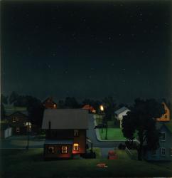 Amy Bennett, Sleeping Separately, 2006. (Courtesy of Galleri Magnus Karlsson)