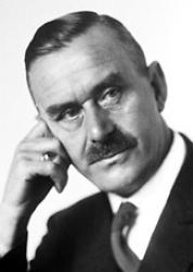 Thomas Mann, about the time of his first publication in VQR. (Courtesy of the Nobel Foundation)